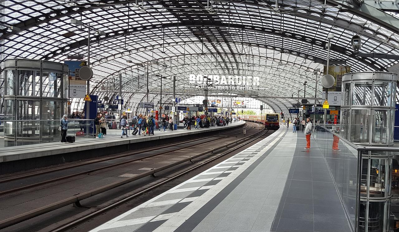 платформа и поезда