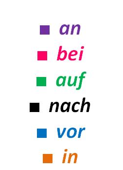 Управление немецких глаголов