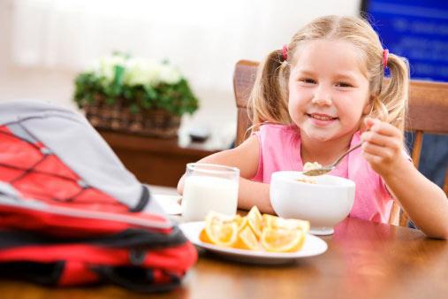 завтрак в немецкой школе