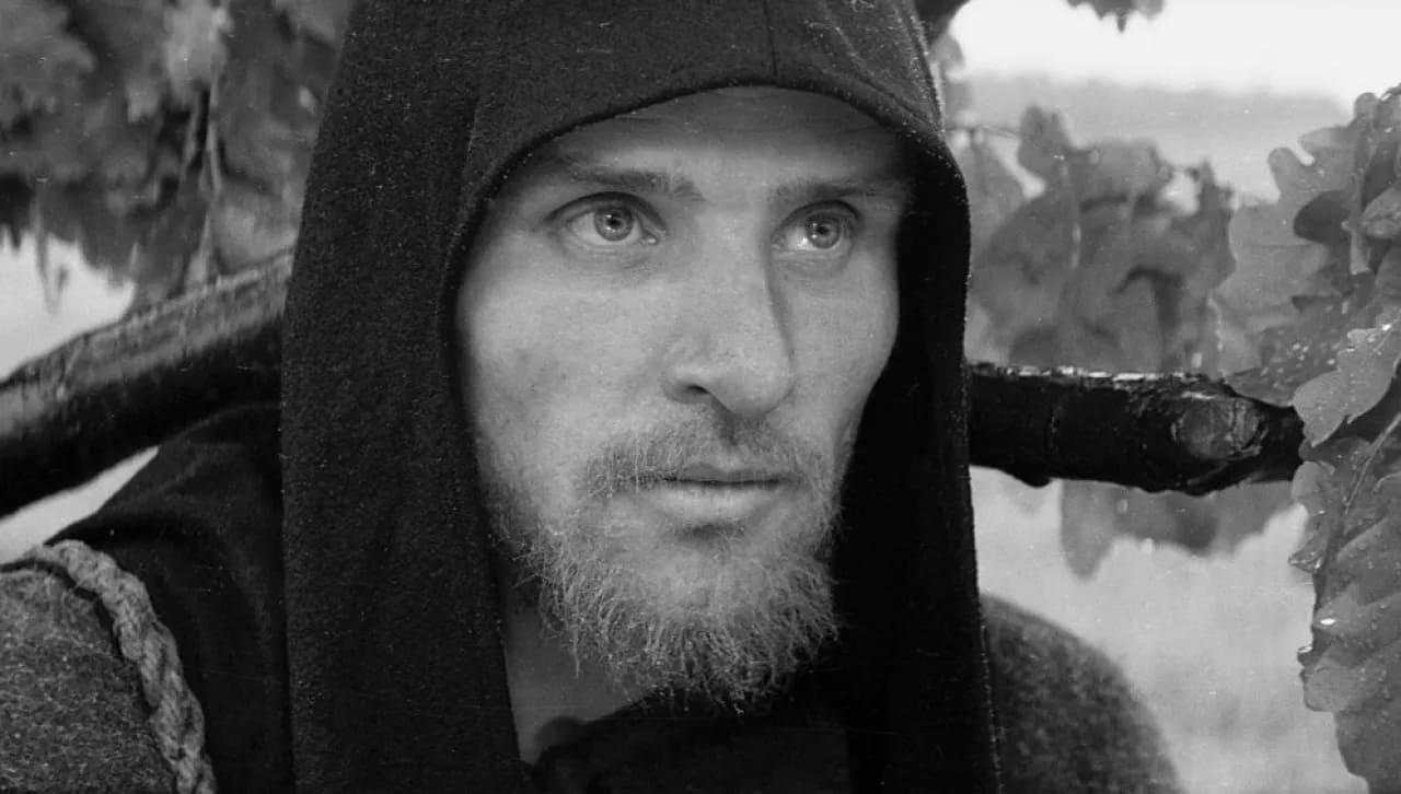 Кадр из фильма Андрей Рублёв 1966 год