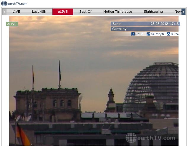 Web (Веб) камеры Берлина