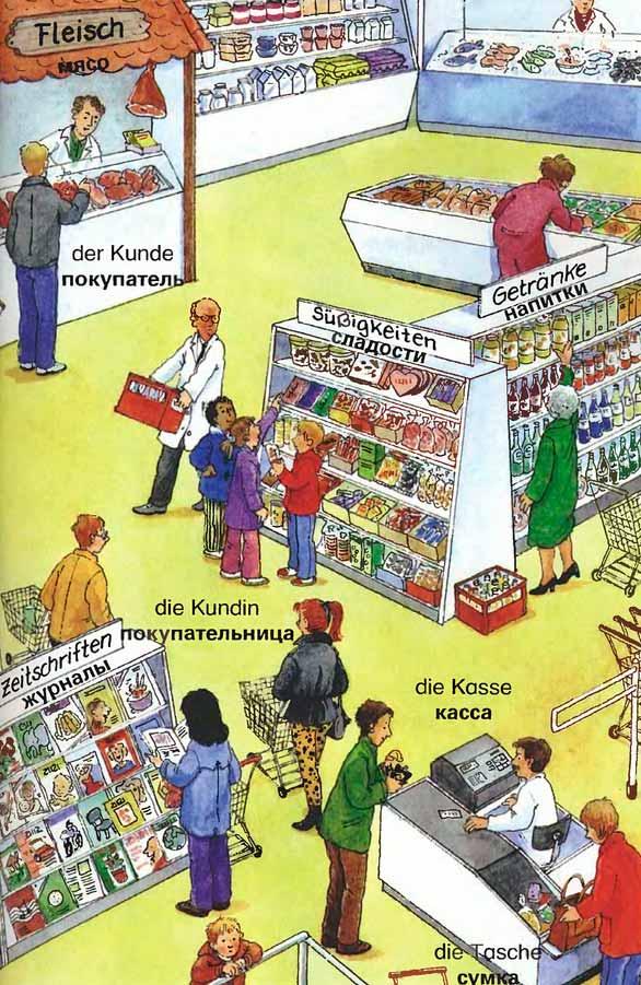 Описать картинку на немецком языке, днем рождения зина