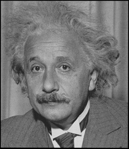 Альберт Эйнштейн - великие люди