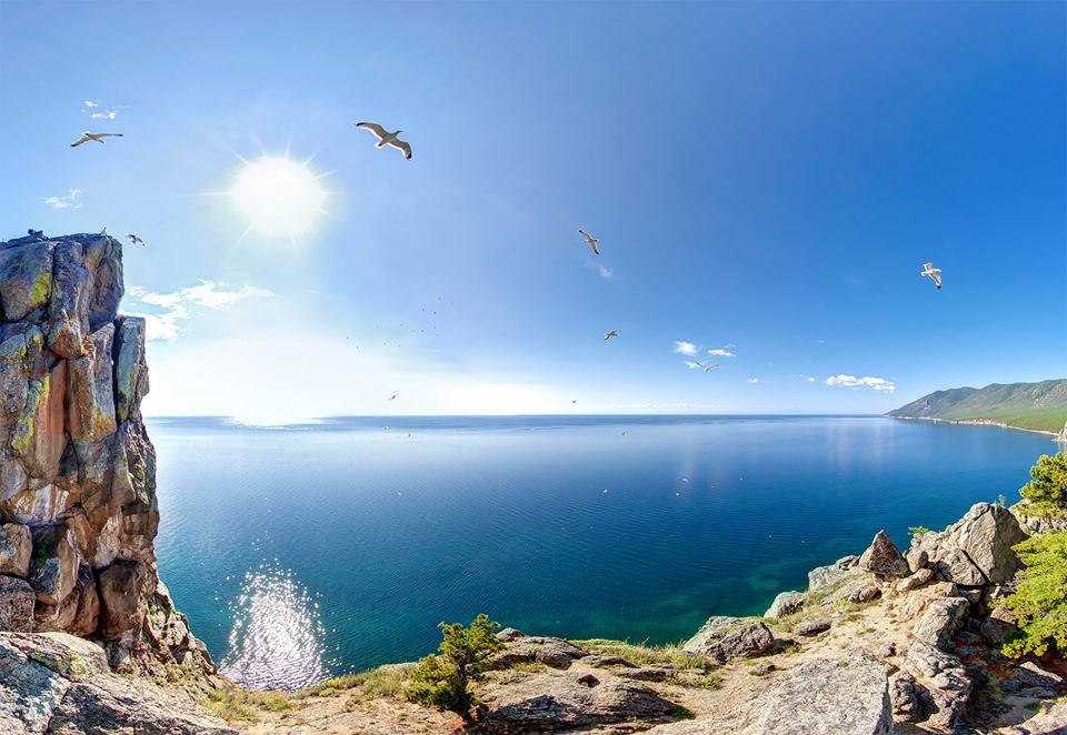 Озеро Байкал природа