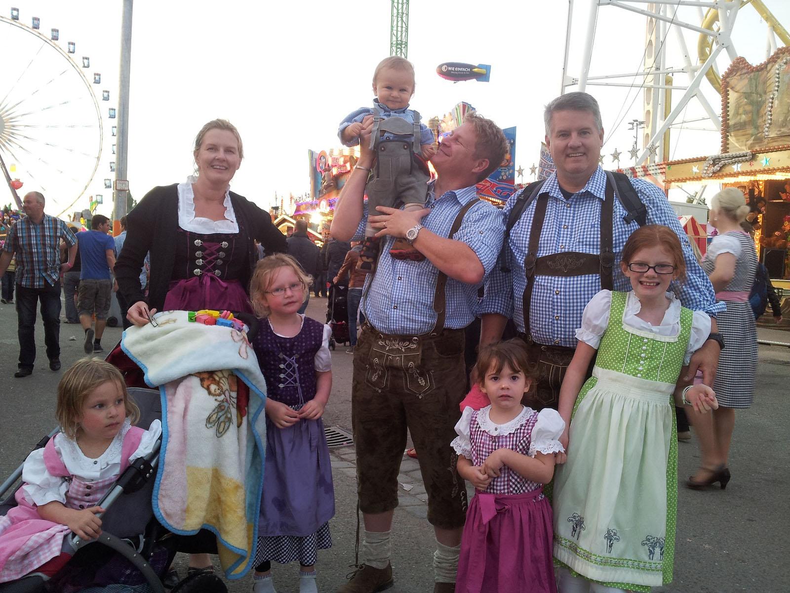 немецкая семья