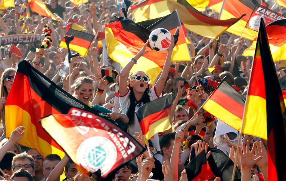 Рассказ о футболе на немецком