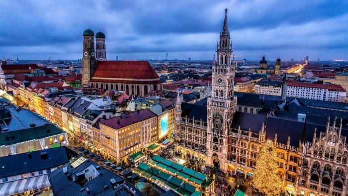 Рассказ о Германии текст с переводом Немецкий язык онлайн  Красивый город
