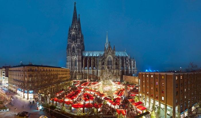 Города Германии на Новый год