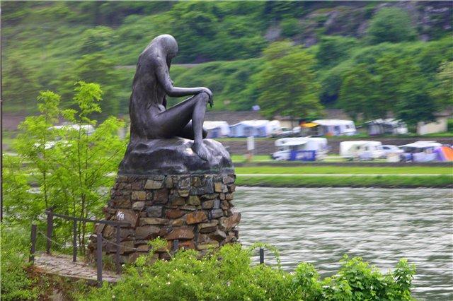 романтическое место на Рейне