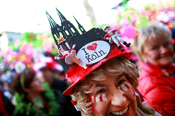 Карнавал в Кельне 2014