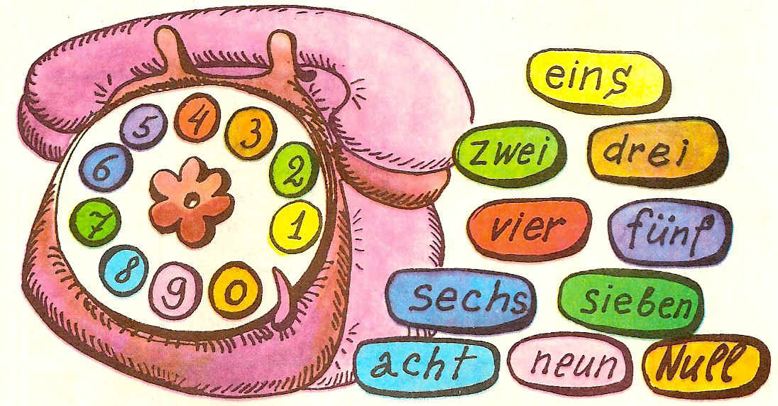 считаем на немецком до 10