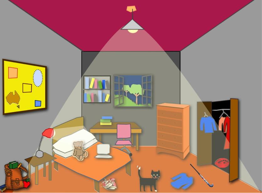 Описание комнаты на немецком фото