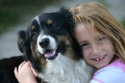 в деревне с собакой