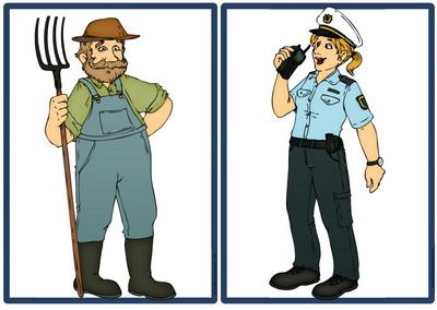 фермер и полицейский
