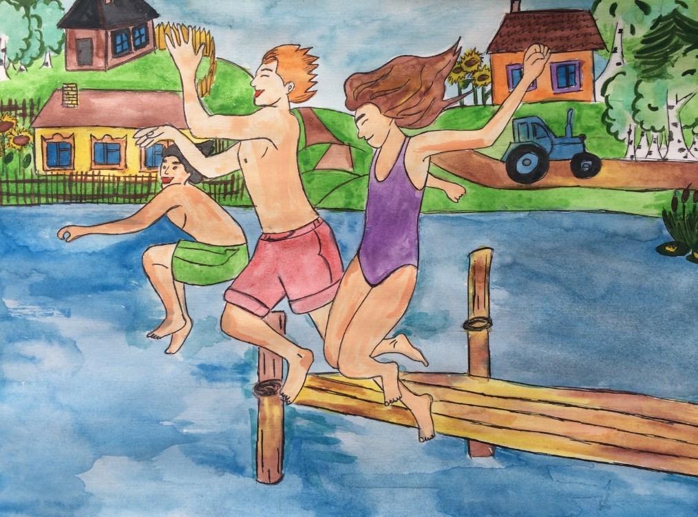 рассказ про лето в Германии