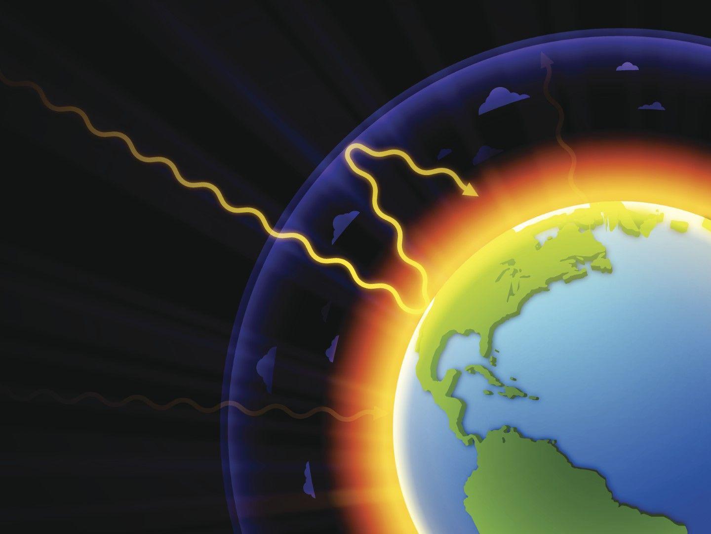 парниковый эффект в атмосфере Земли