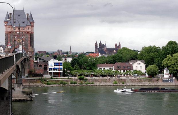 Город Worms Германия
